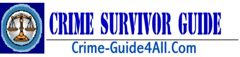 CLICK TO: E-mail Crime Survivor Guide